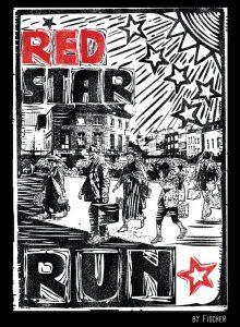 voorkant shirt RED STAR RUN 2014