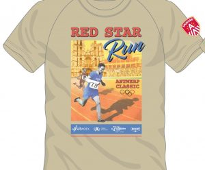 XXXXX RED STAR RUN PETER FISCHER RED STAR-AFFICHE '18-01